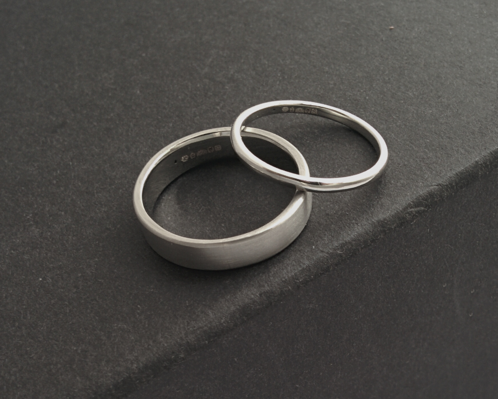 Bespoke Platinum Wedding Bands