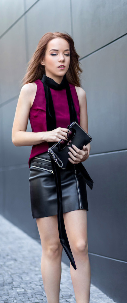 LEATHER N' ROUGE