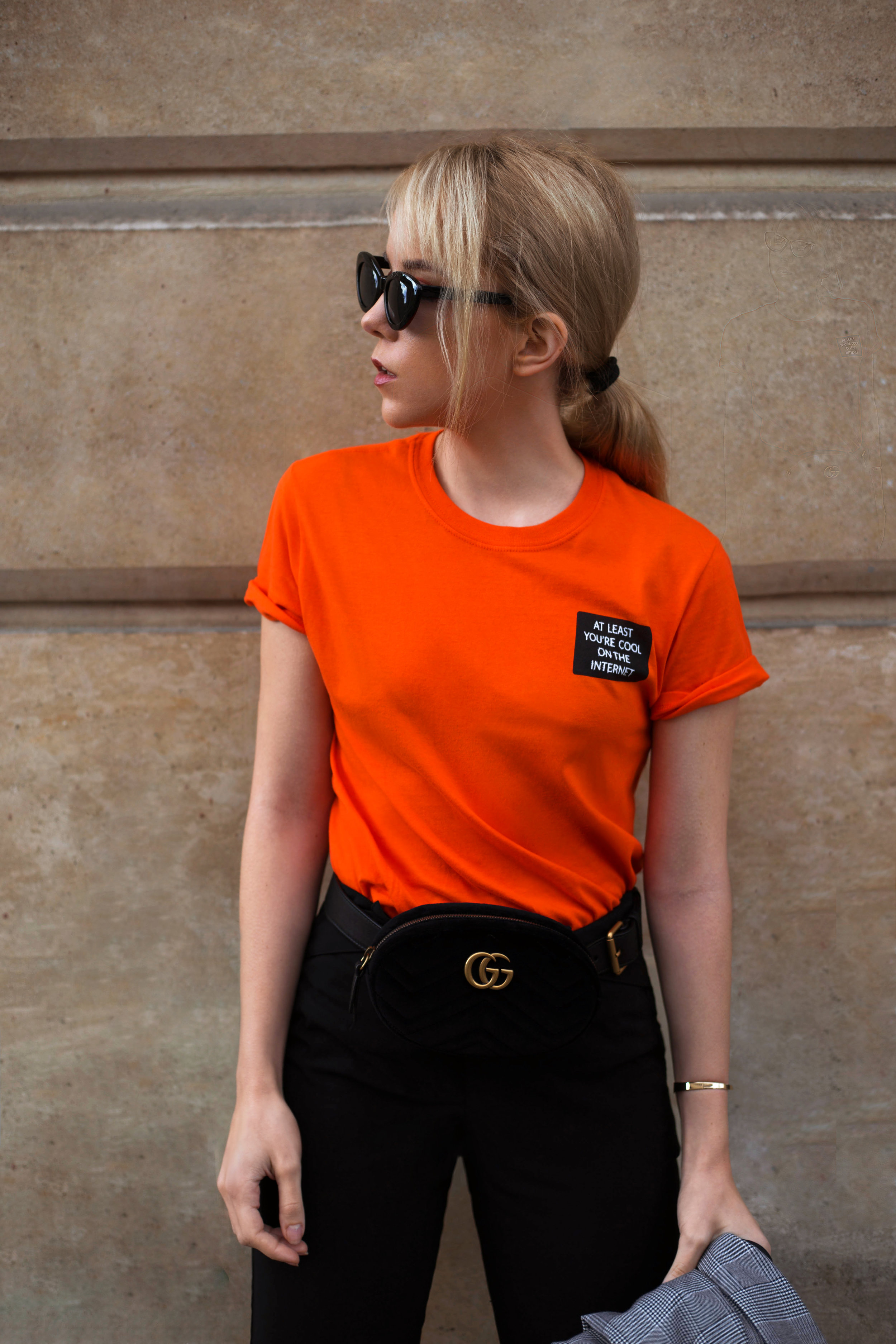 AT LEAST YOU'RE COOL - PARIS FASHION WEEKDAY 5