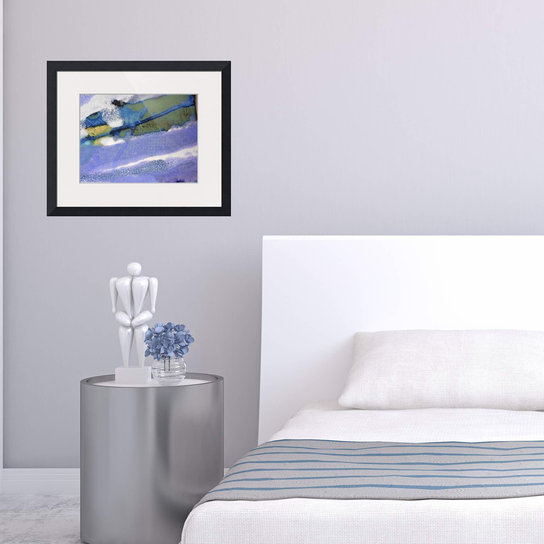 #32 rectangular framed print