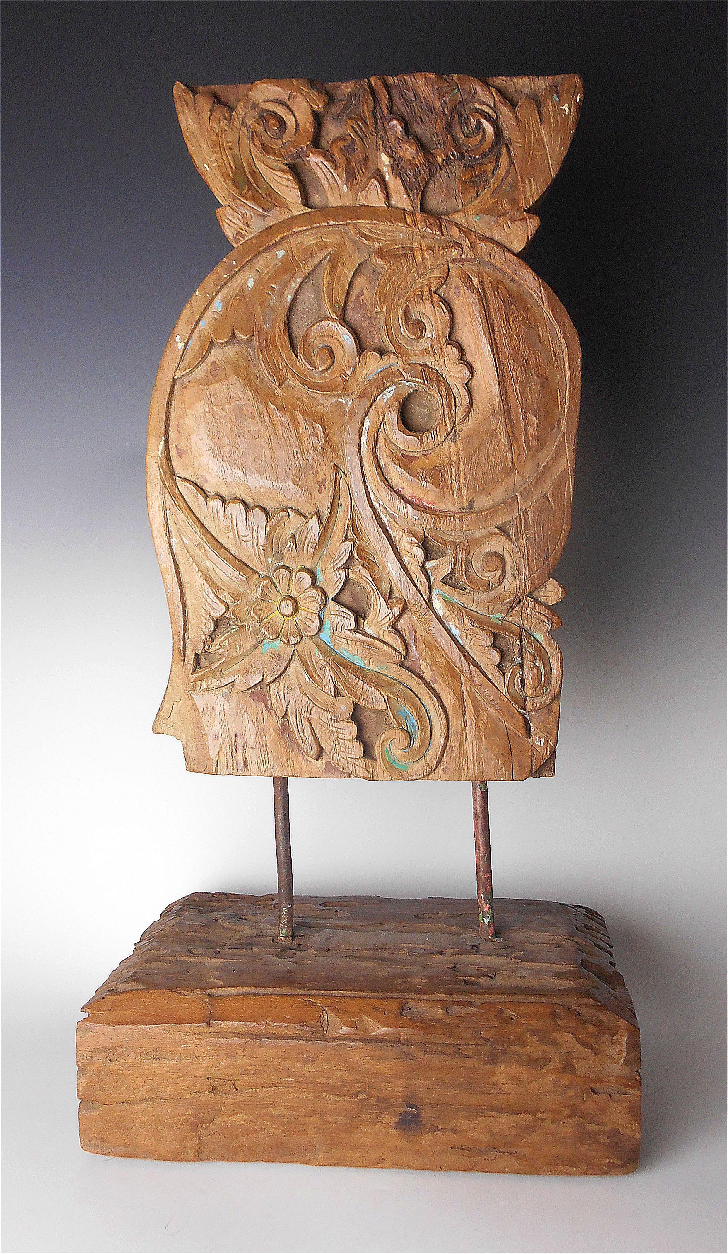 Indonesian Wood Sculpture