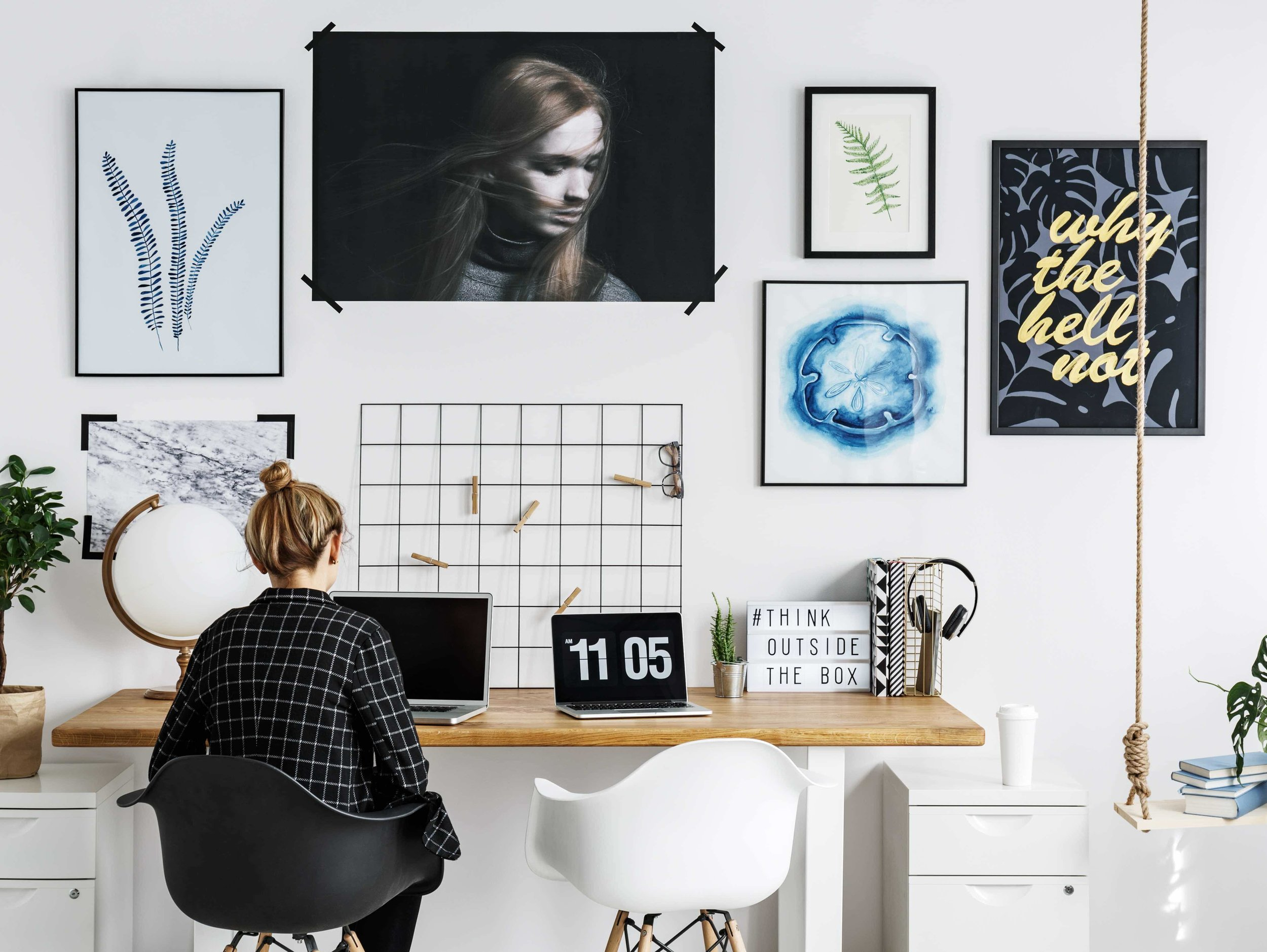 How To Turn Your Home Office Into A Creative Incubator Maggie Minor Designs