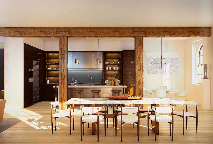 443 Greenwich St. in TriBeCa. Apartments starting in the $7M range.