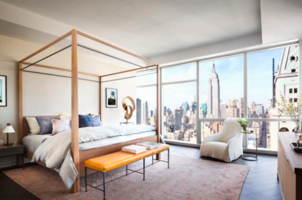 A beautiful NYC condo with Empire State Building views