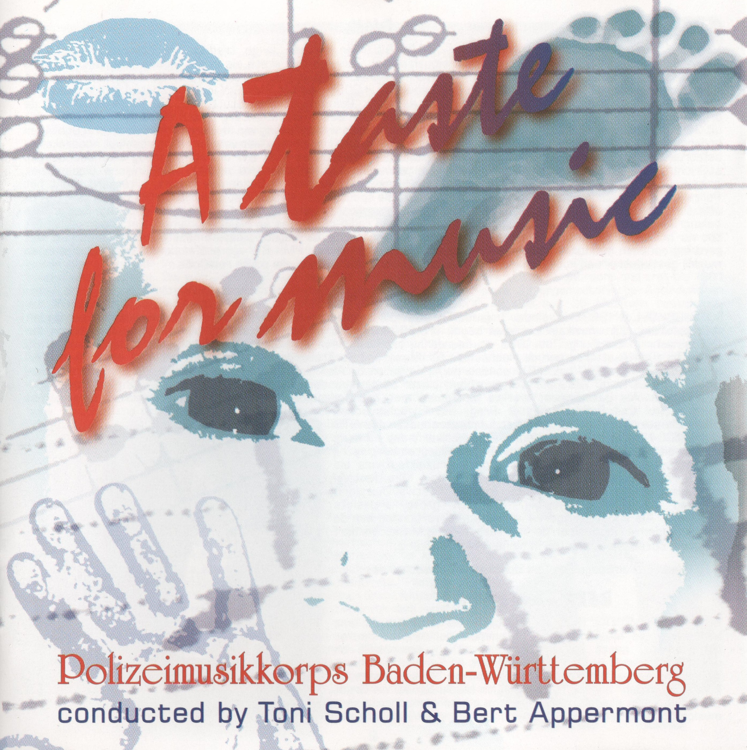 Beriato (2005) A Taste for Music. The titletrack is my composition for concertband 'A taste for Music'.