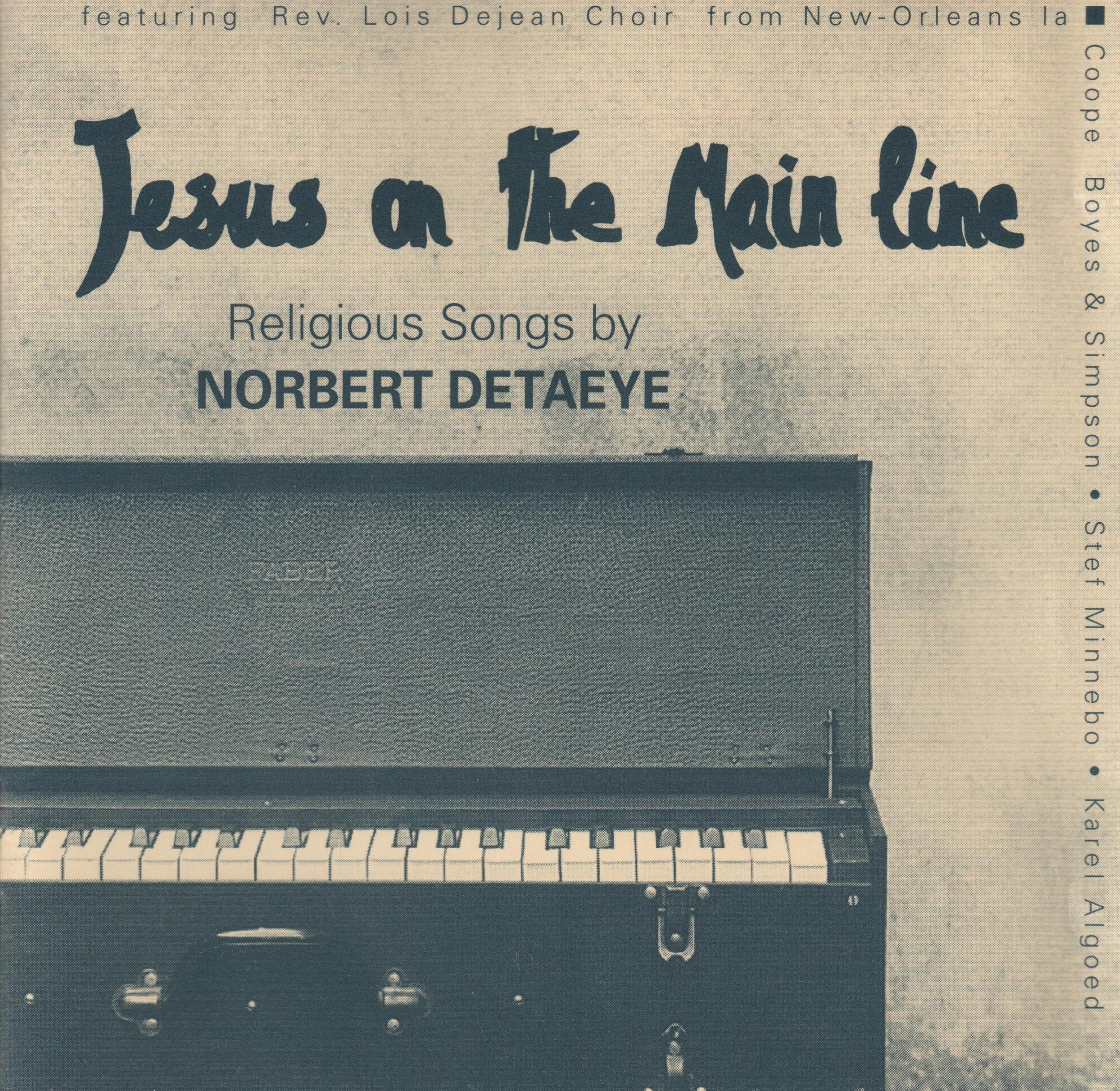 Norbert Detaeye's gospel cd. I'm the guitar player.
