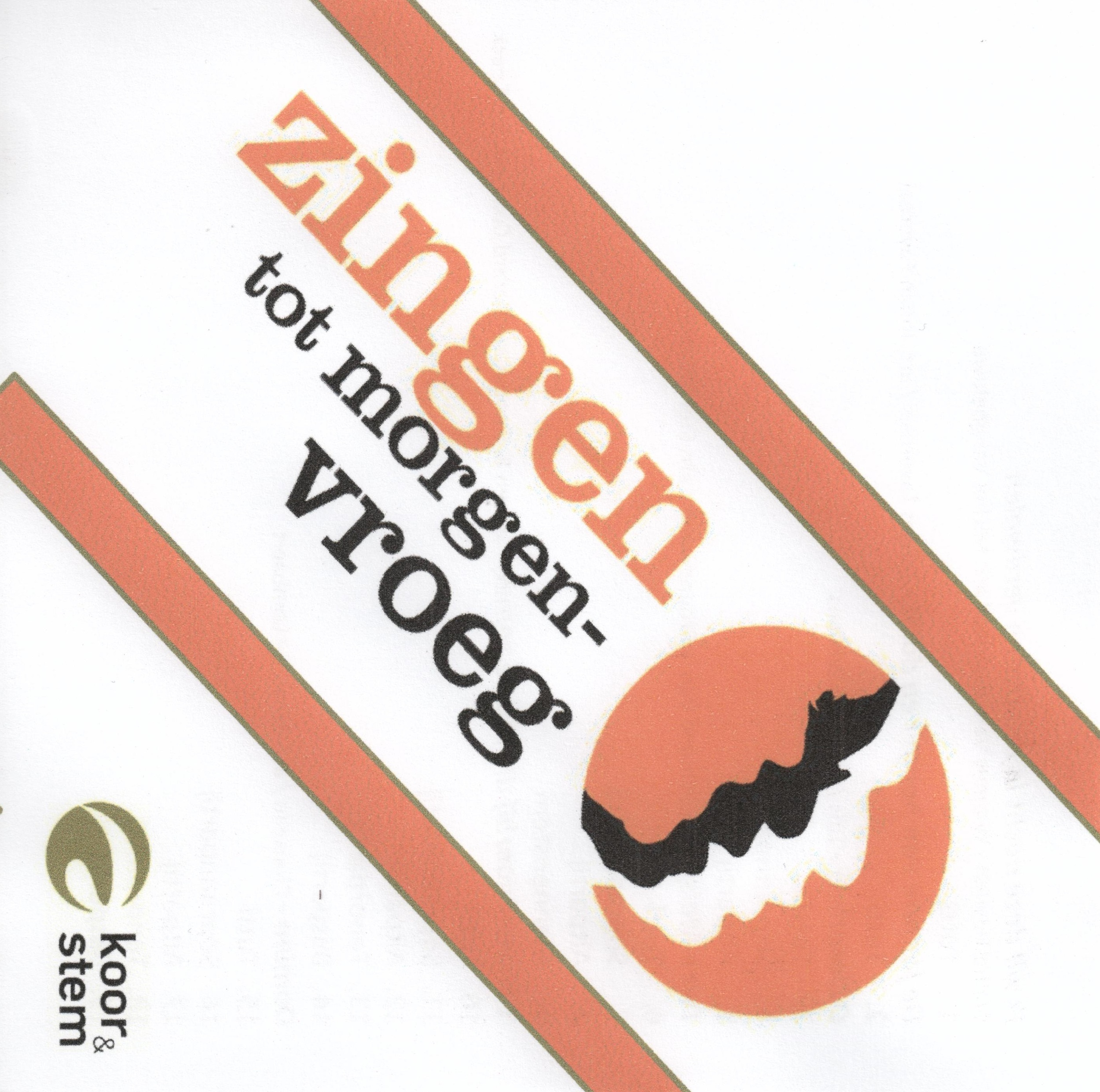 Cd comes along with the book 'Zingen tot morgenvroeg' (Flemish & Dutch pop classics for choir and piano). Arrangement of 'Twee Meisjes'.