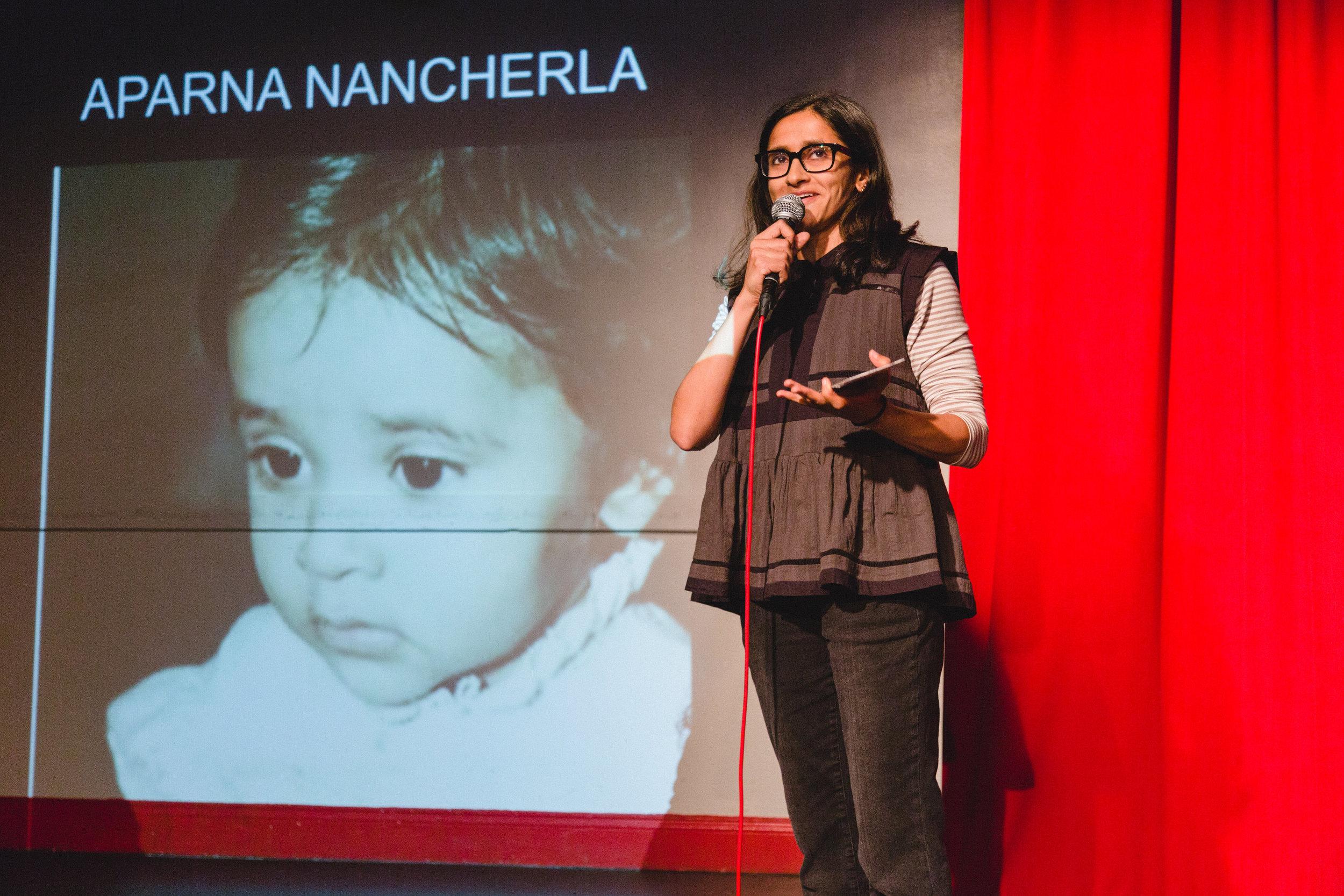 Aparna Nancherla, 11/8/17