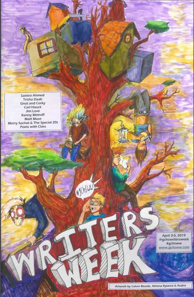 2019 Poster by Calvin Bloede, Athena Rylance, and Audra