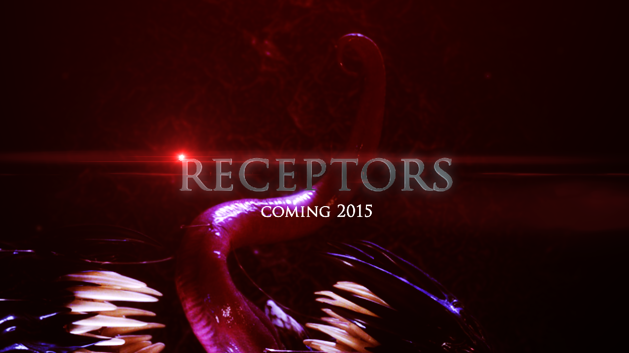 Promotional poster for Receptors short film coming 2015.