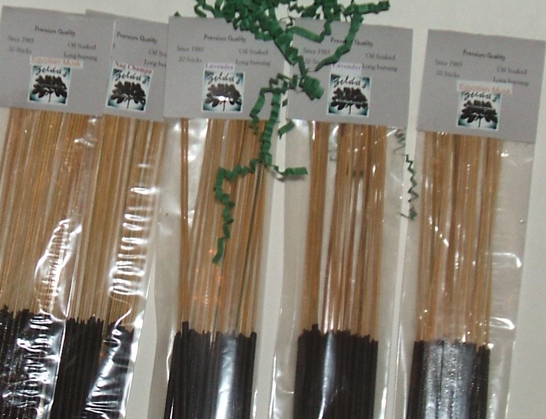 Zelda's Party Pack 20 Incense Sticks