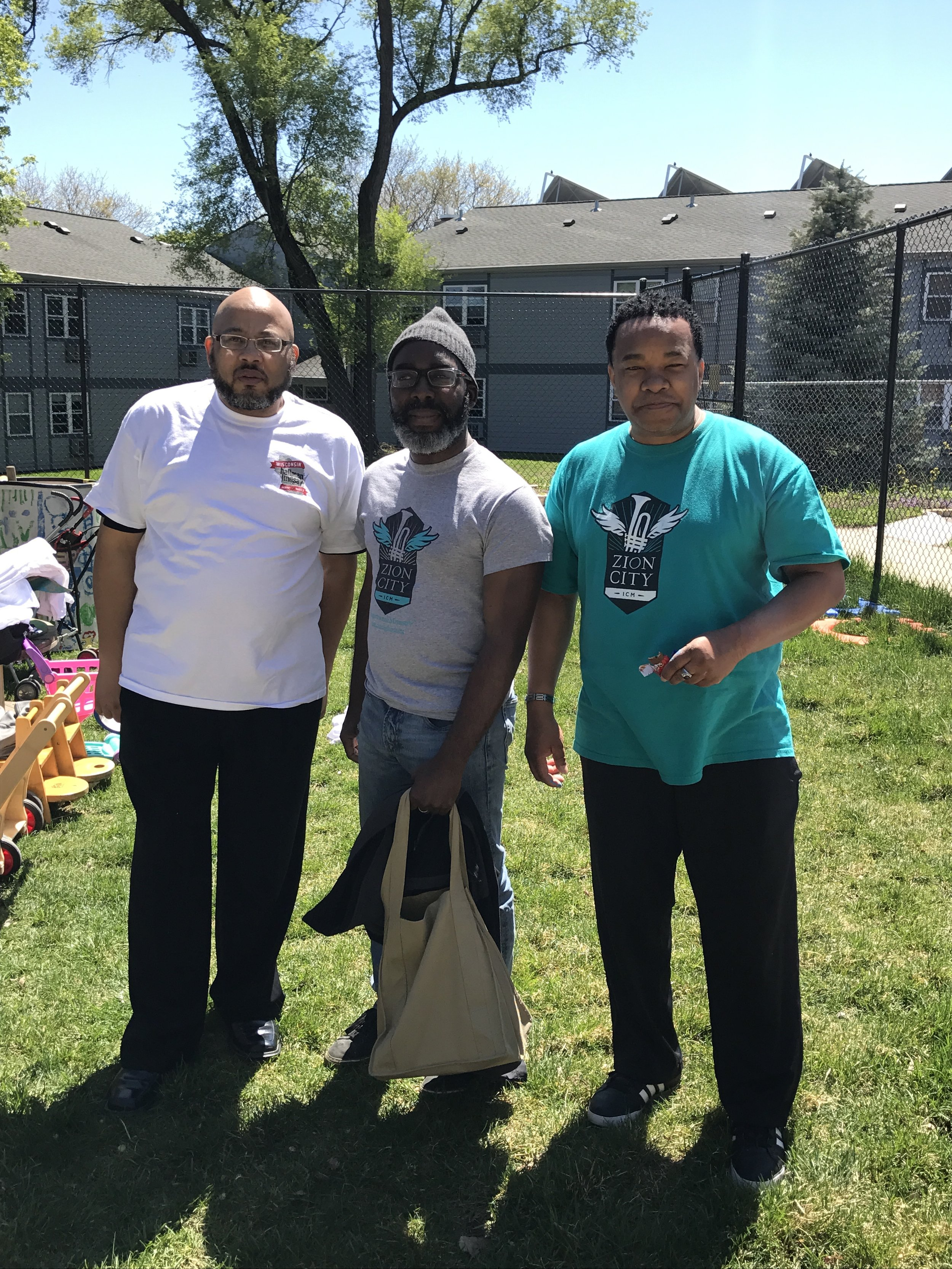 Service and Ministry Leaders at One City for Love Madison