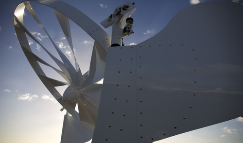 NPC Spoked Wheel Wind Technology