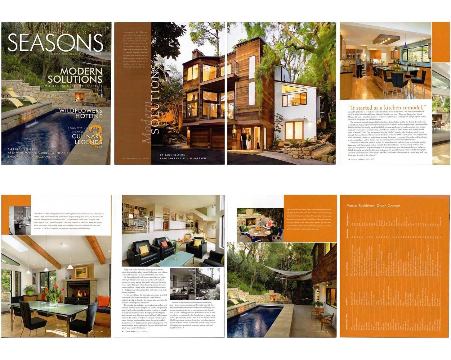 Seasons Magazine Feature