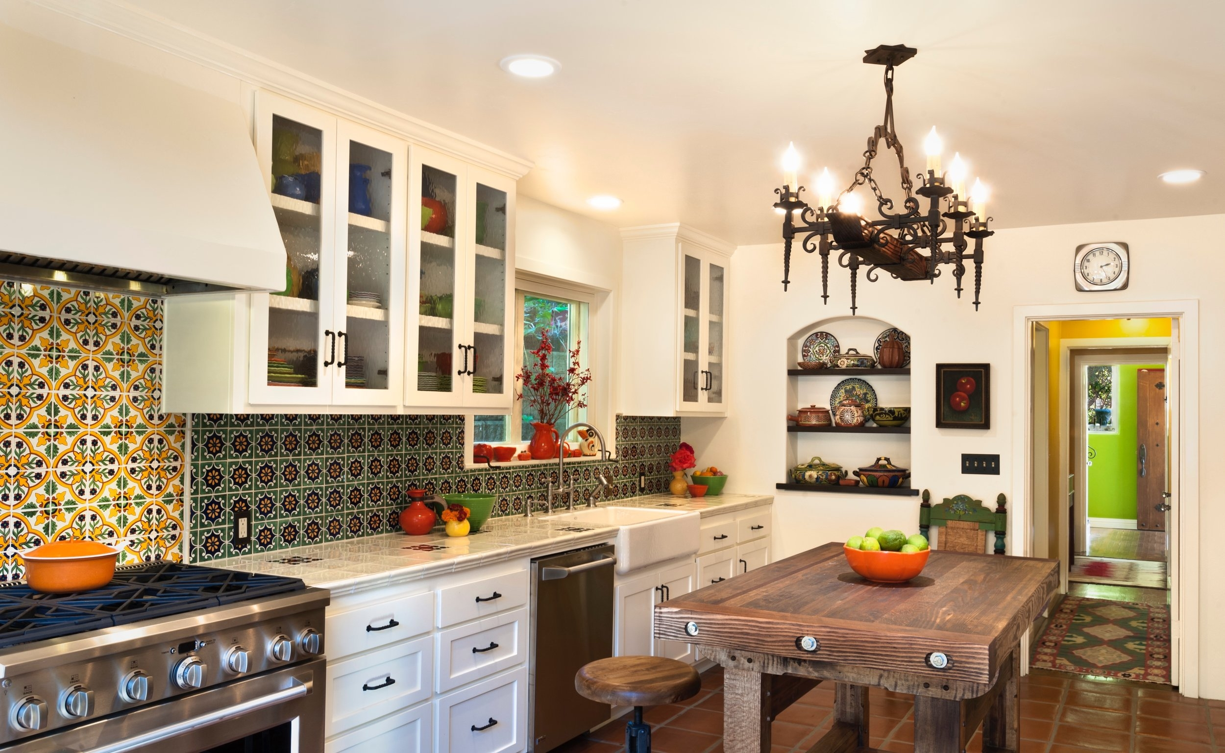 Spanish Kitchen — Ensberg Jacobs Design Inc, Santa Barbara ...
