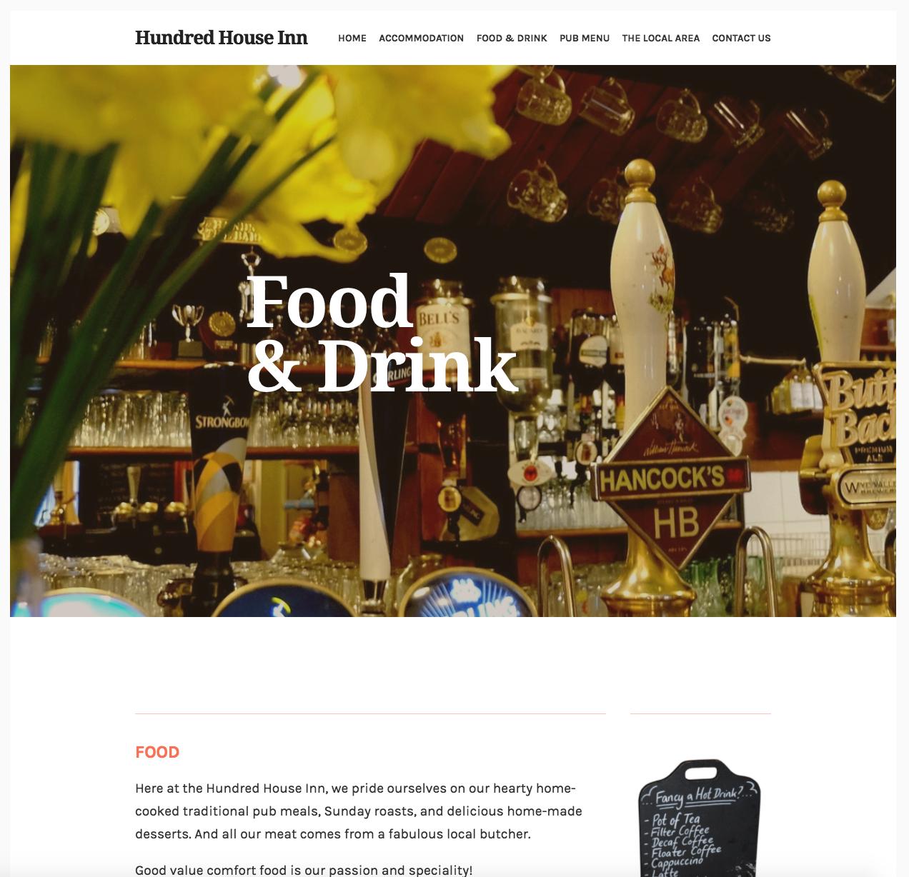Hundred House Inn - Homepage