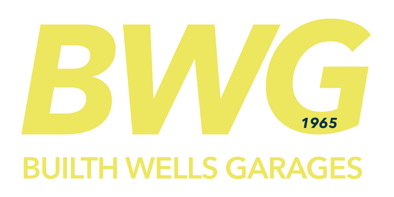 The new logo design for BWG, Builth Wells Garages