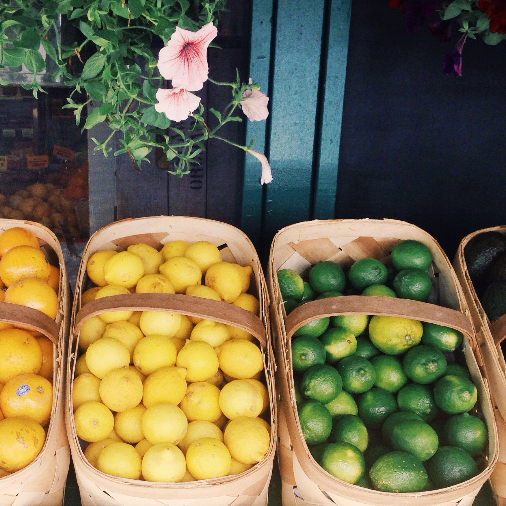 Leomons  and  Limes  at  Local  the  Fruit  Stand