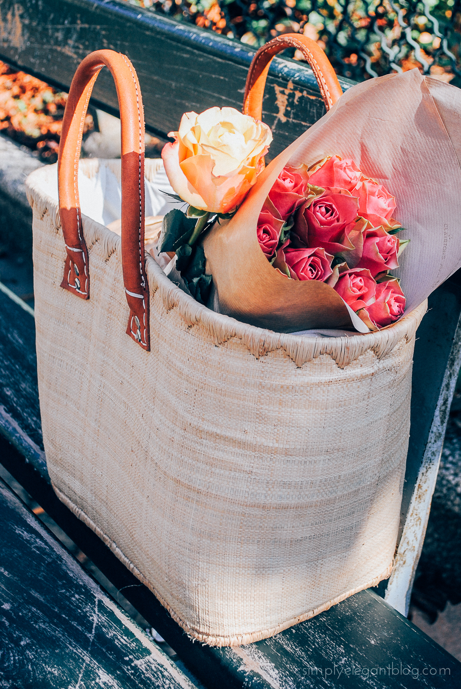 Simply Elegant / Paris Vacation Photographs - Fresh Roses