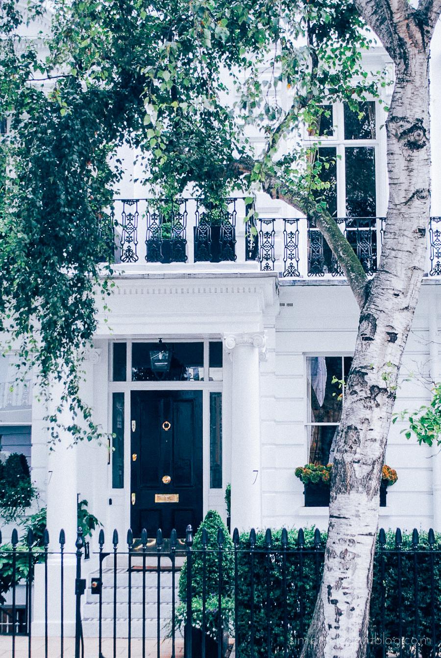 Simply Elegant / London Vacation Photographs - South Kensington Homes