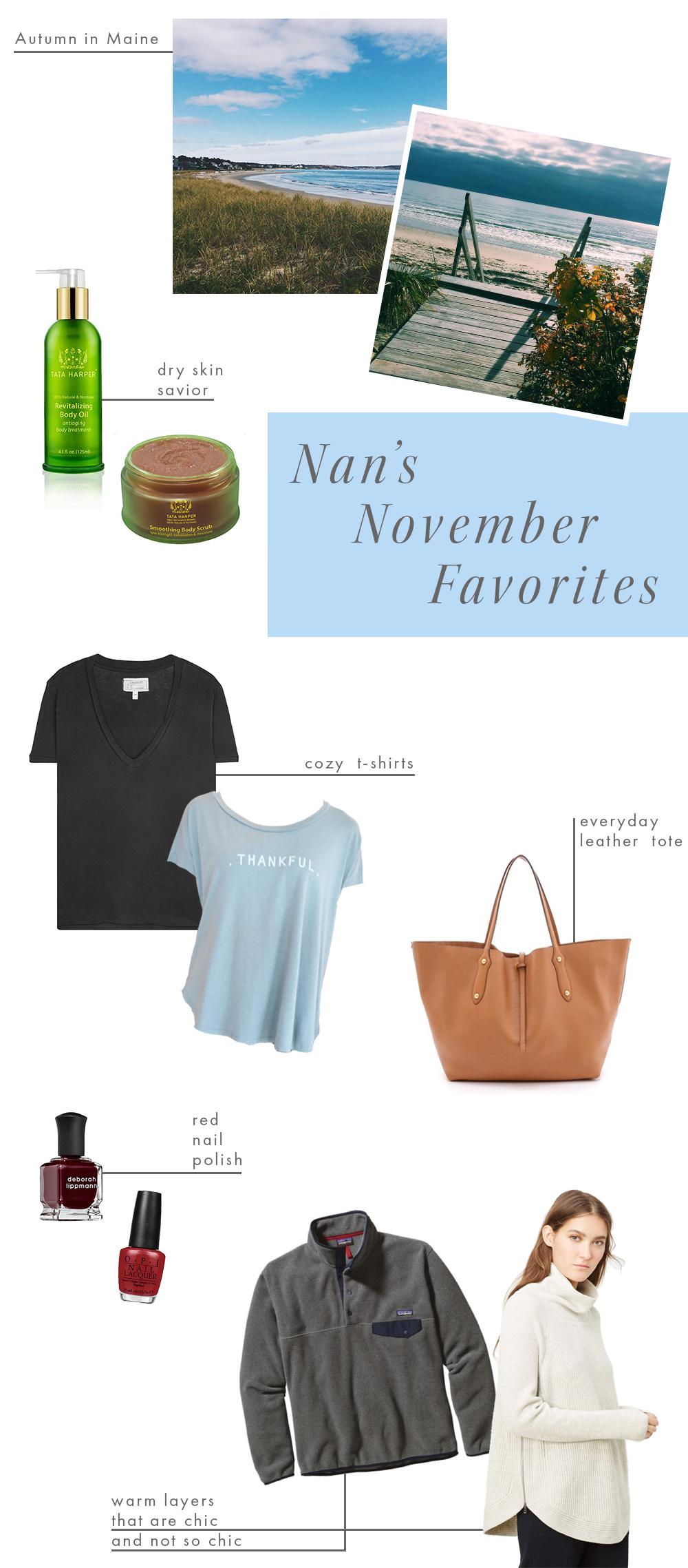 NovemberFavoritesCollegeFashionBlogger