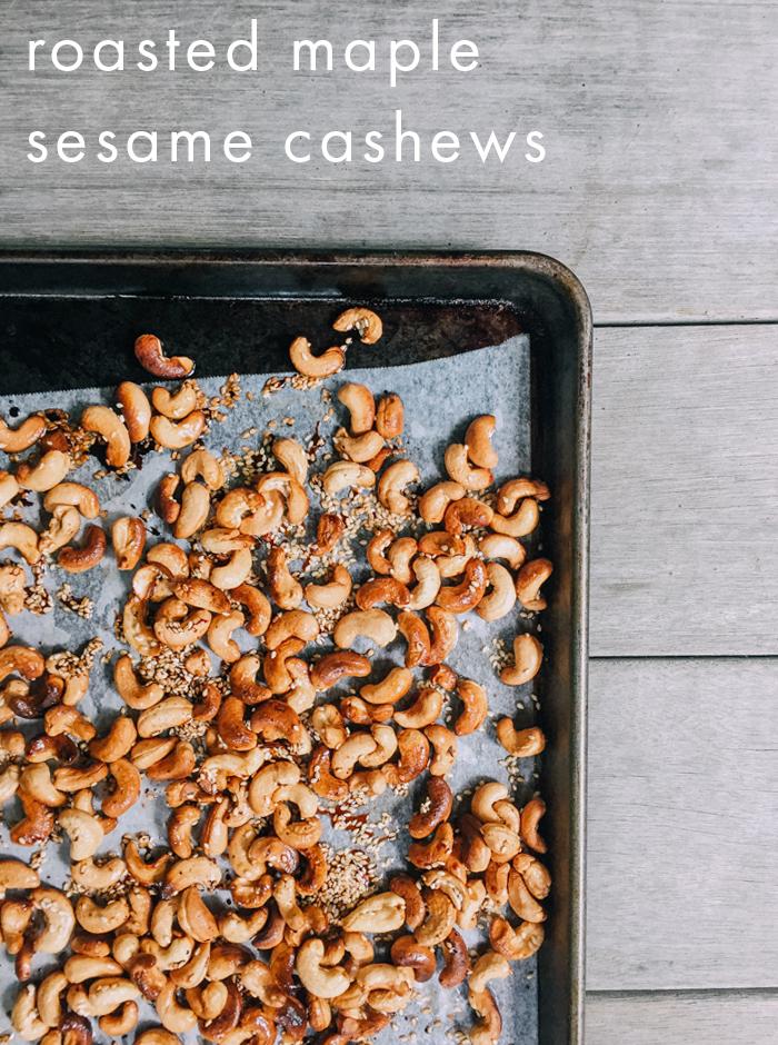 easy roasted cashews