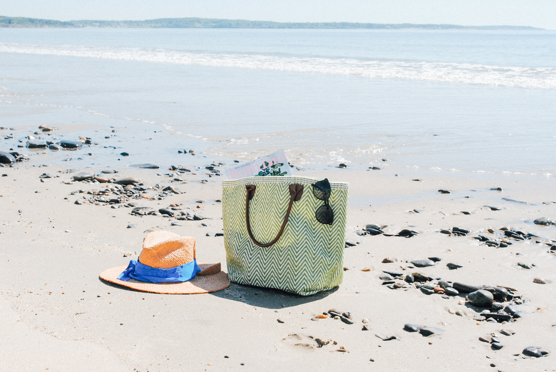 Pack your bag for the beach.