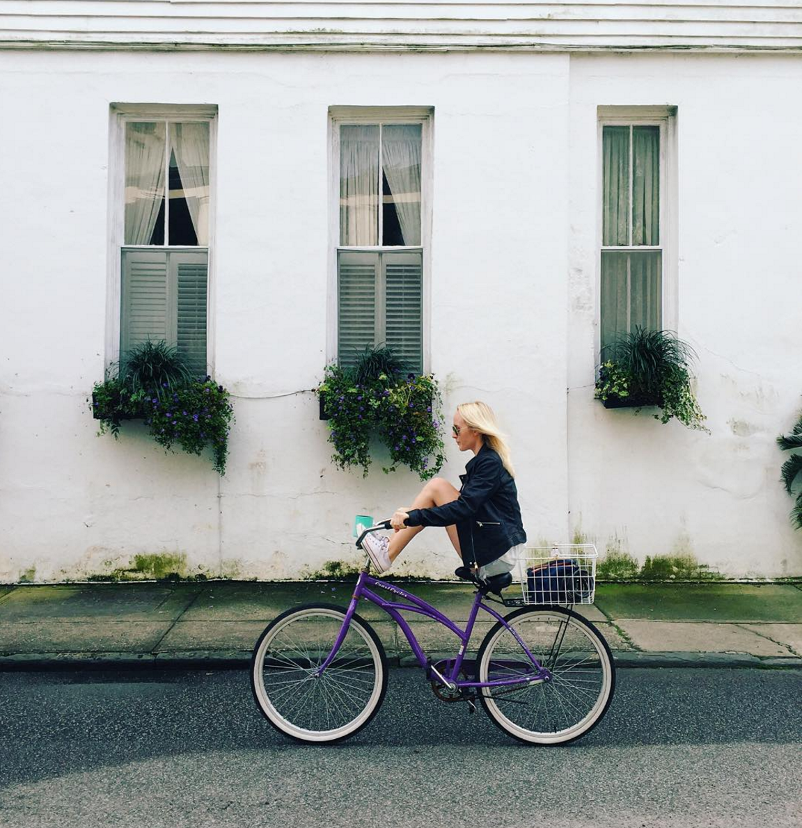 Morning Bike Ride. Interview with Brooke Kiernan McCallion on Simply Elegant Blog.