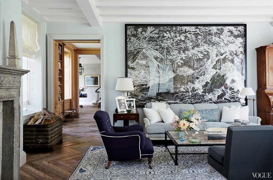 Locust Valley Living Room - Emilia Fanjul Pfeifler