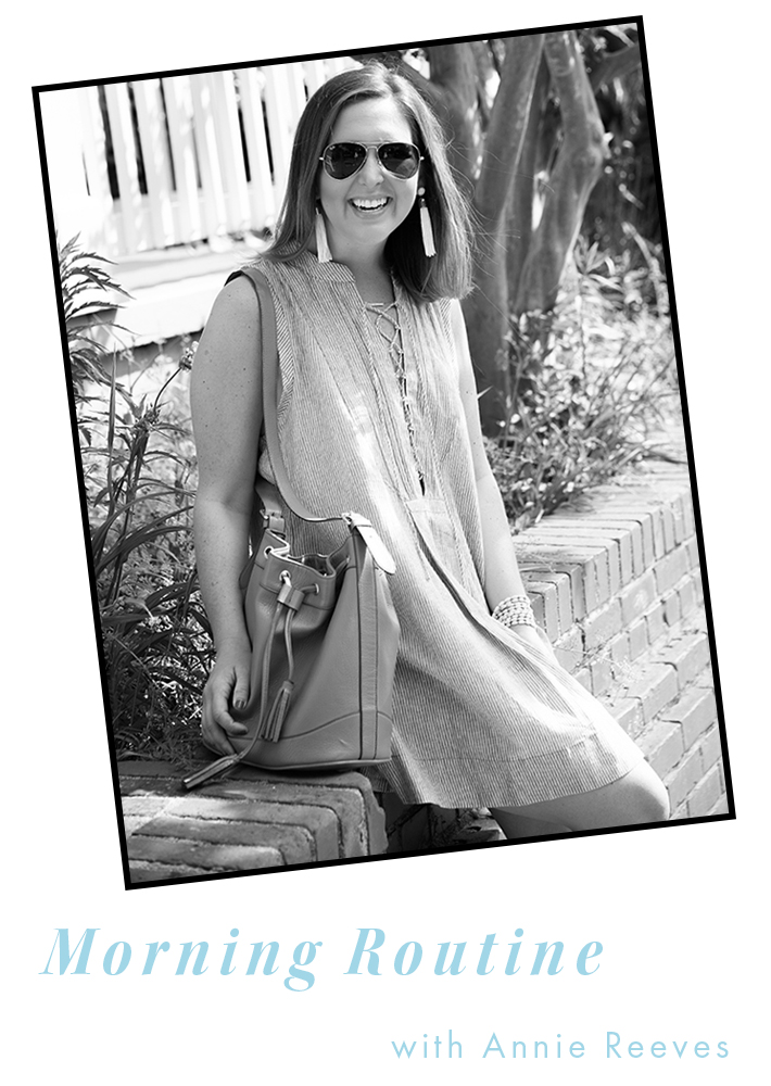 Blogger Annie Reeves Interview - Morning Routine