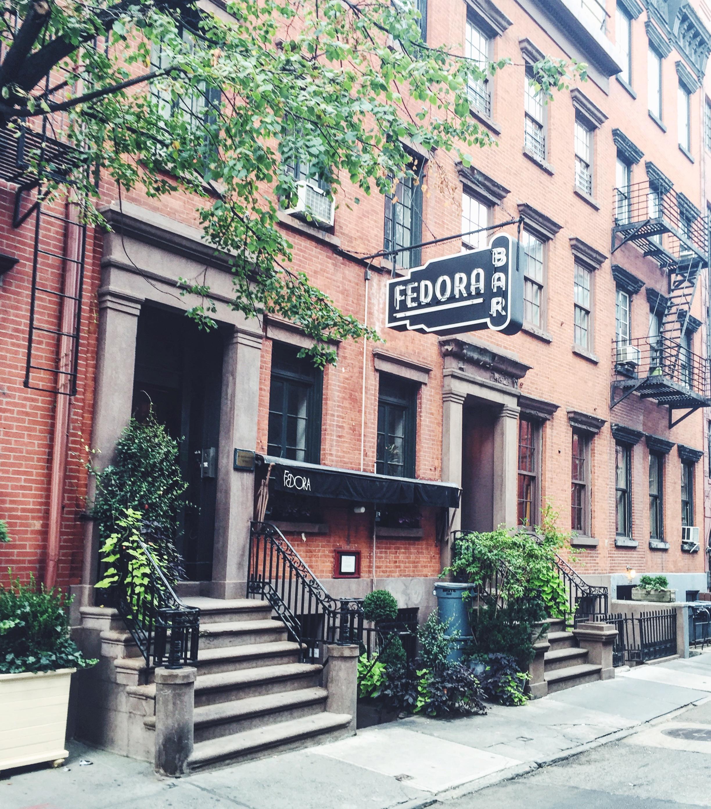 Bar Fedora - West Village, New York