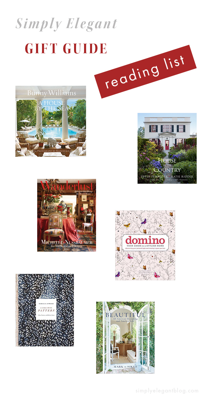 Interior Design Coffee Table Books to Gift This Year