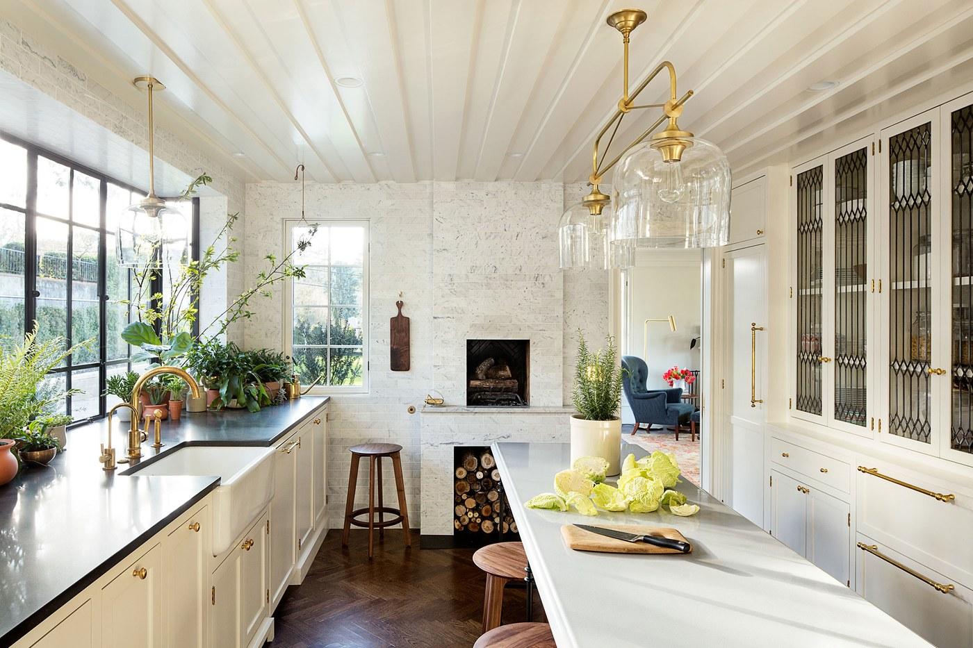 Oregon Home Design by Jessica Helgerson. Kitchen.