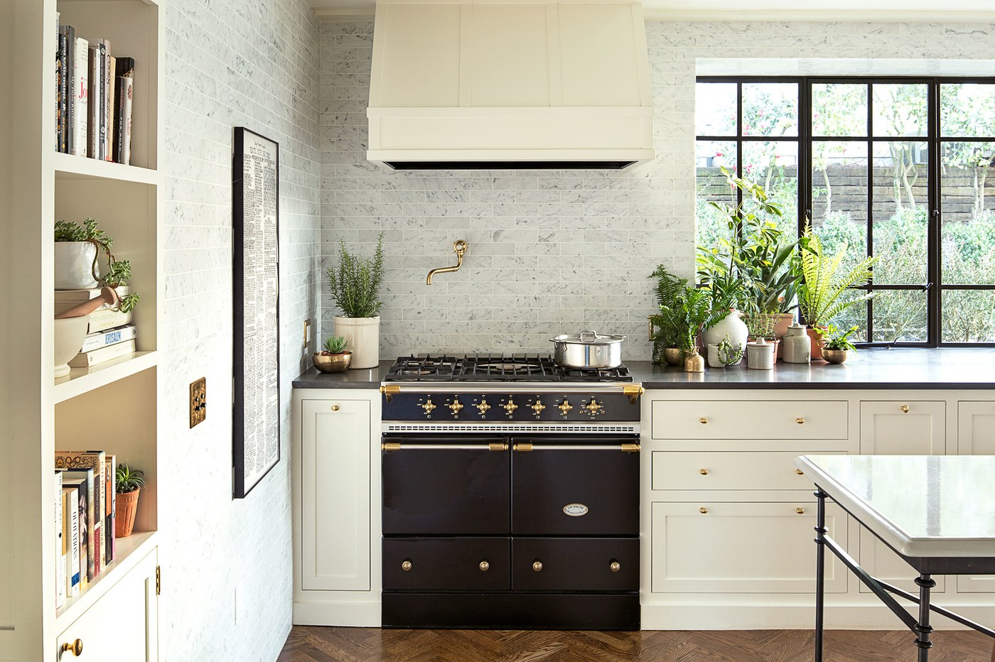 Oregon Home Design by Jessica Helgerson. Kitchen View.