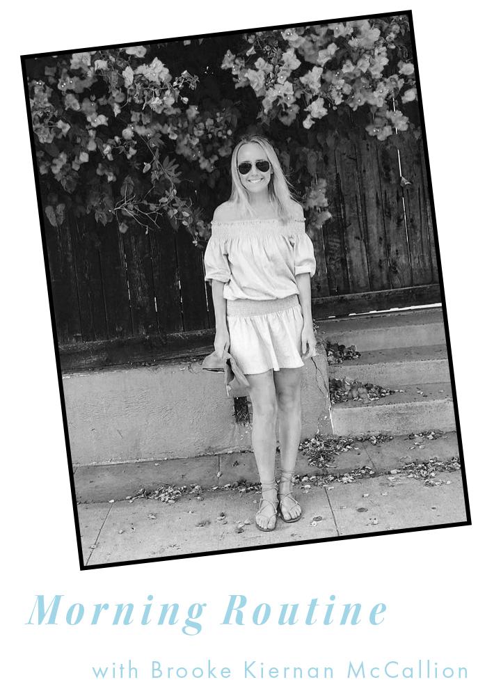 Brooke Kiernan Morning Routine Interview. Simply Elegant Blog.