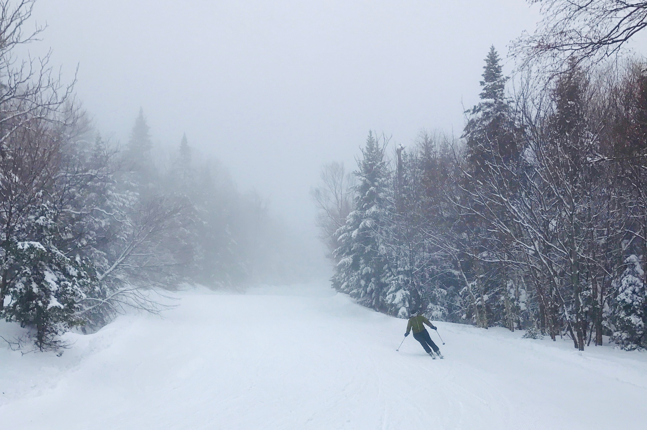 Skiing At Stowe