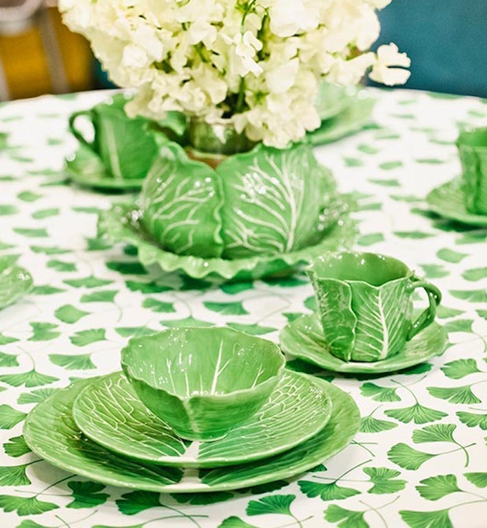 Dodie Thayer Lettuce Ware for Tory Burch