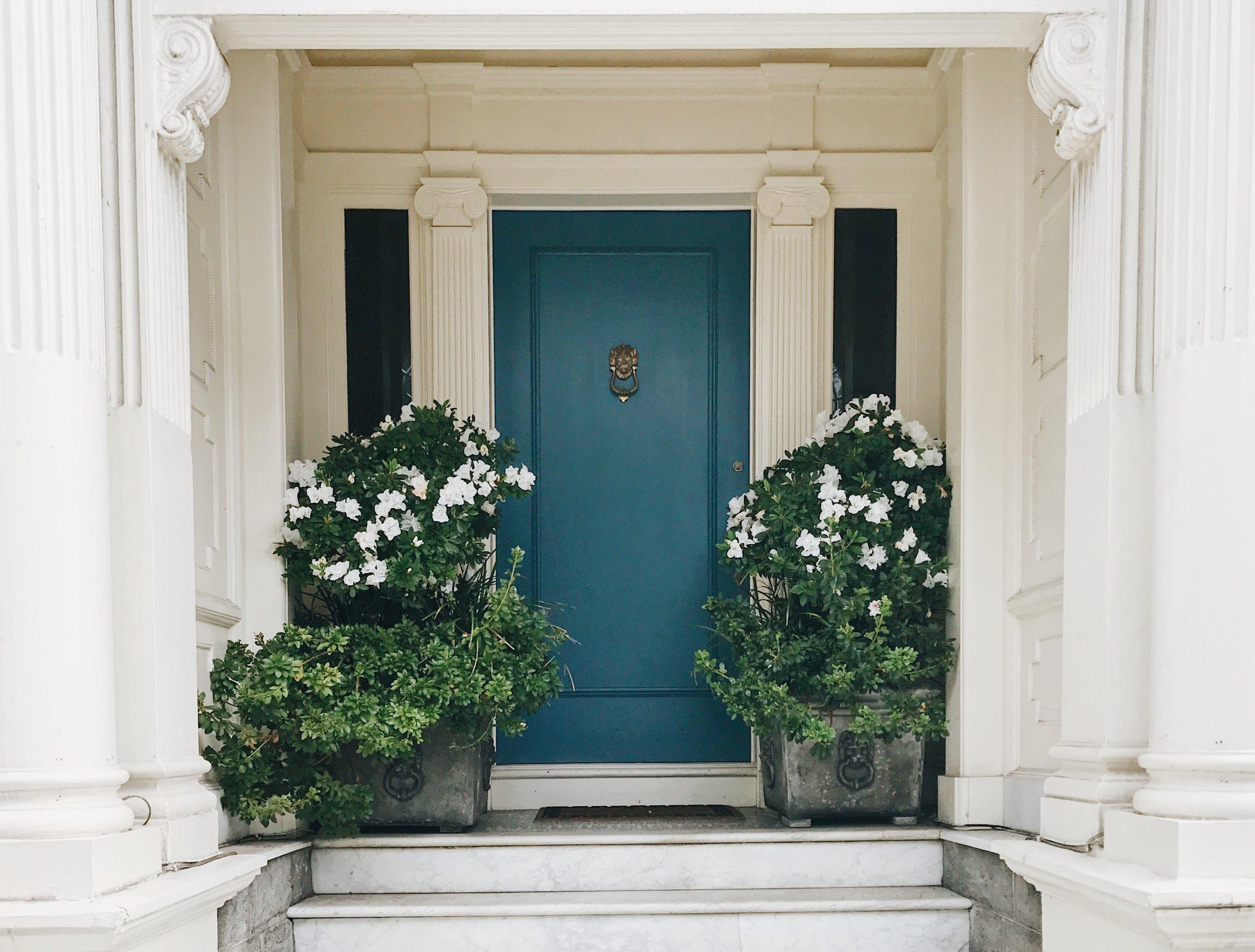 Blue Front Door - San Francisco