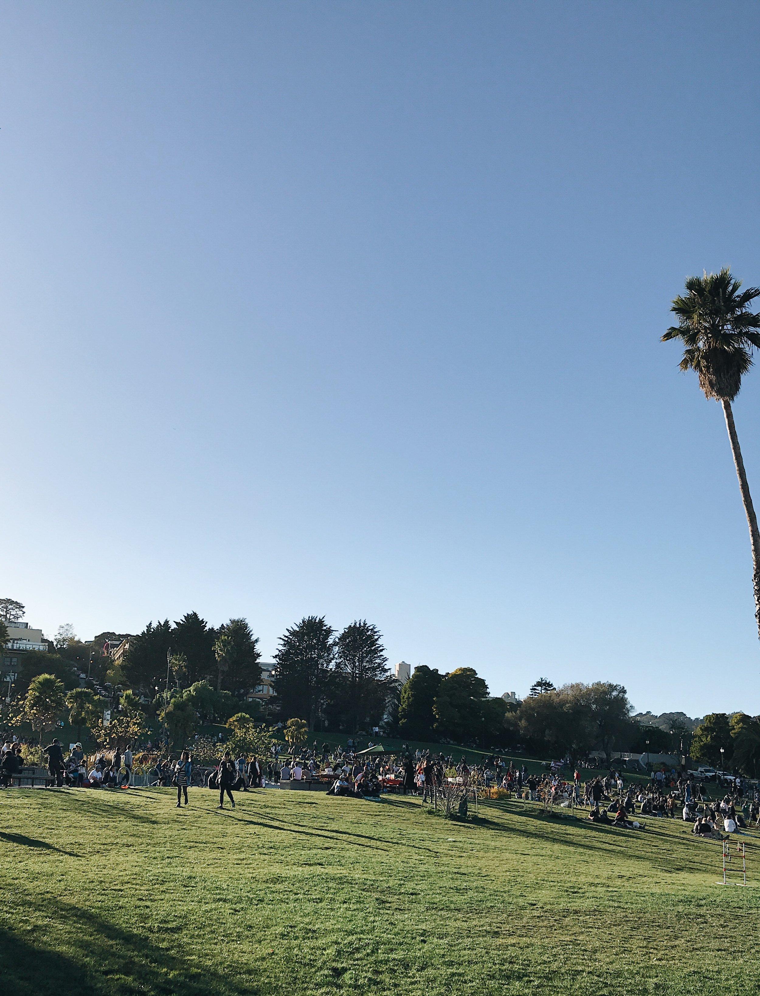 Dolores Park, Mission District, San Francisco