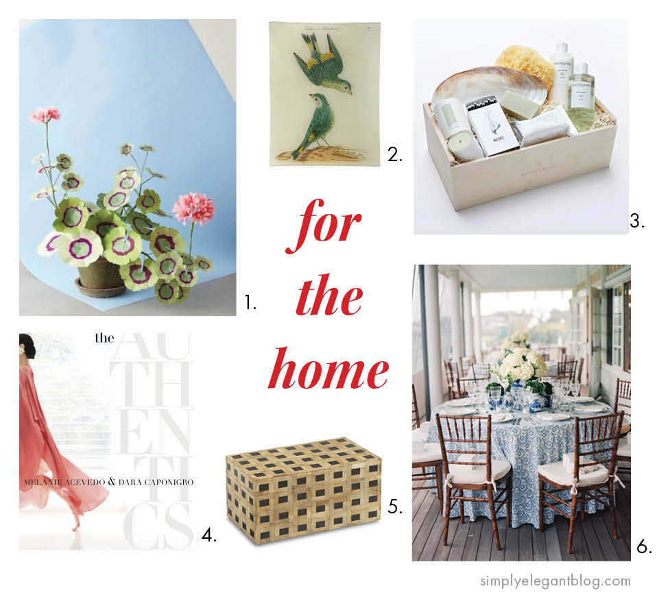 Gift Guide for Her - Home Decor Gifts - India Armory, John Derian, Bunny Williams Home