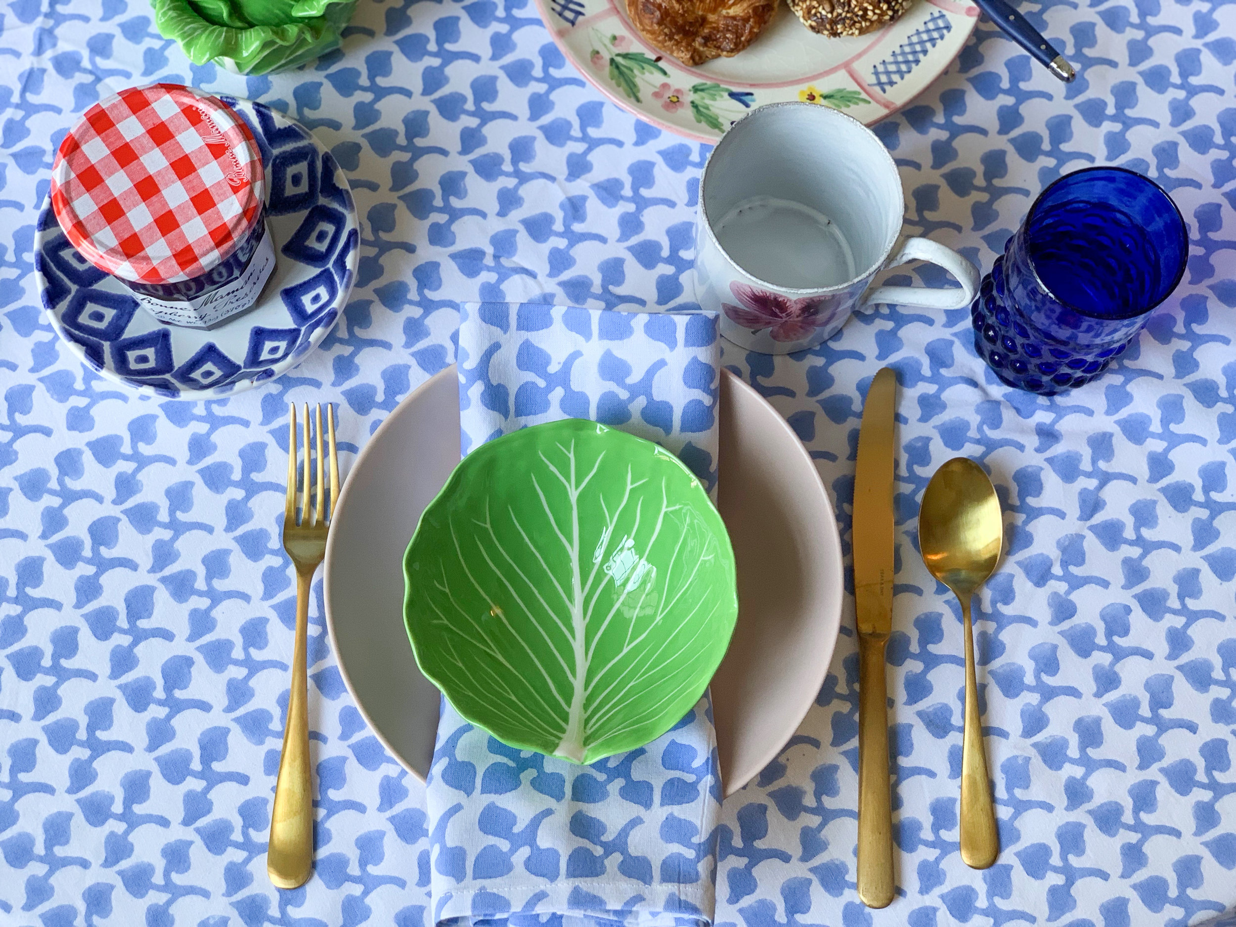 Simply Elegant Blog - Breakfast Tablescape with India Amory 12