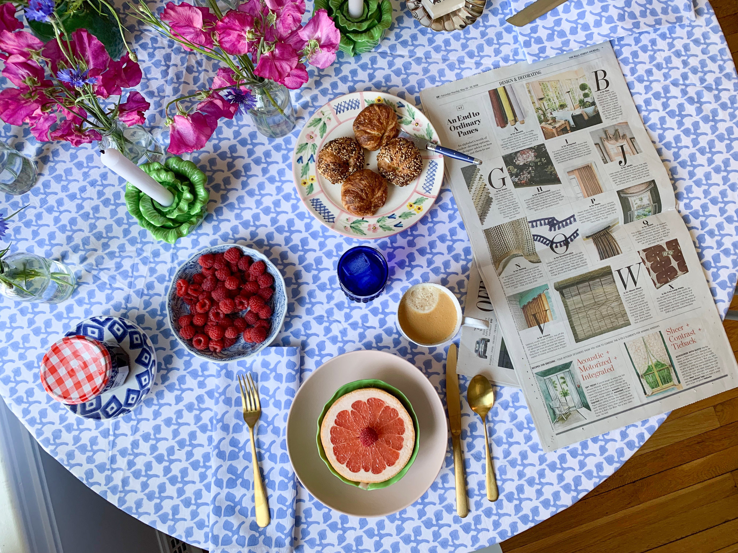 Simply Elegant Blog - Breakfast Tablescape with India Amory 3
