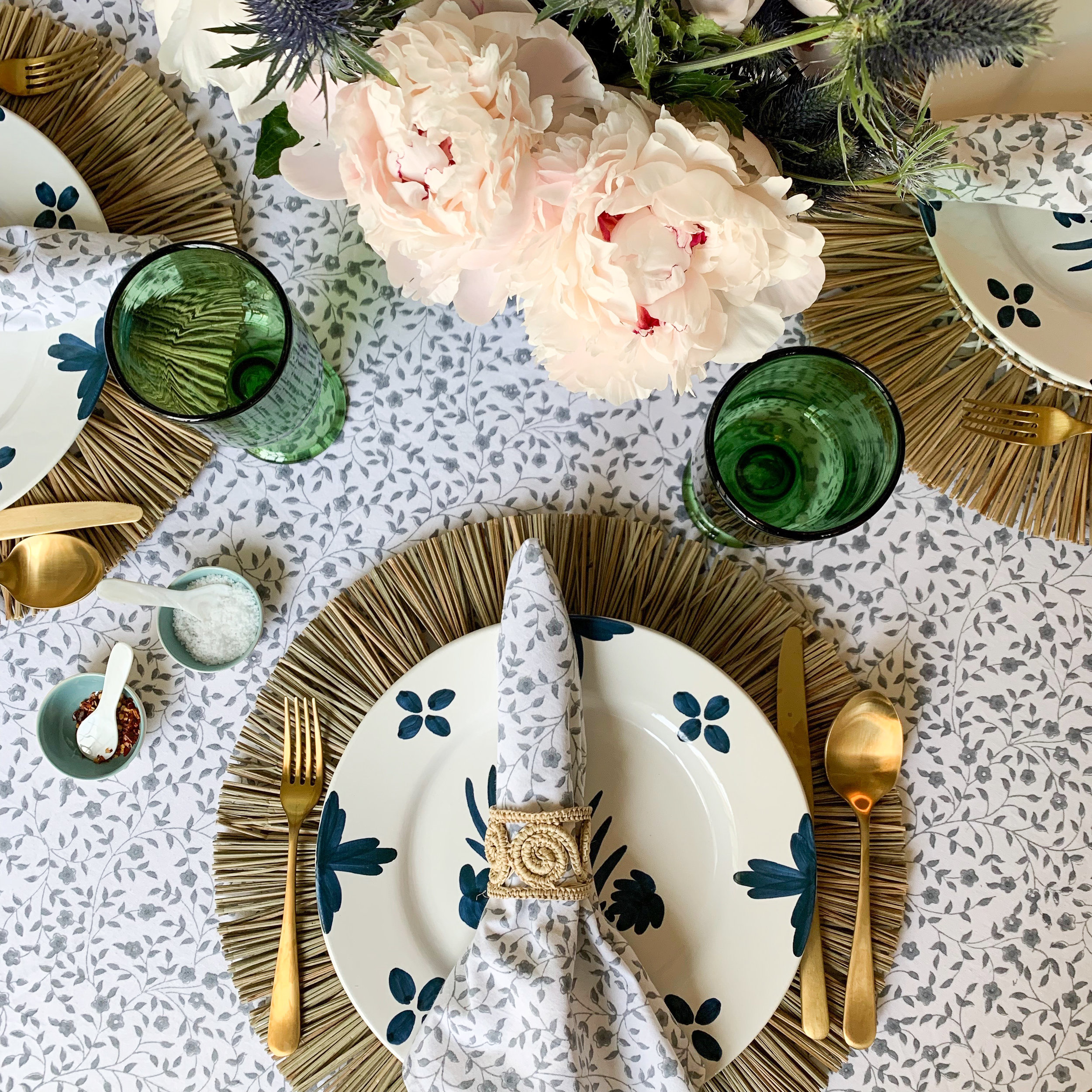 Simply Elegant Blog - Dinner Table Setting with India Amory 2