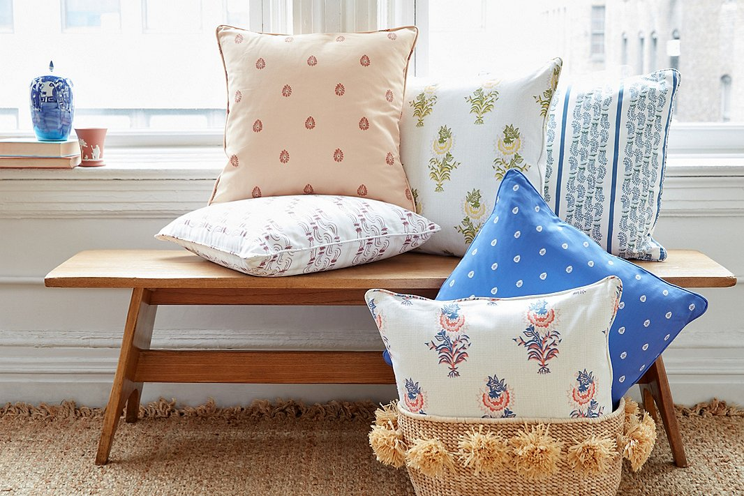 Minnie Driver for One Kings Lane - Patterned Pillows.jpg