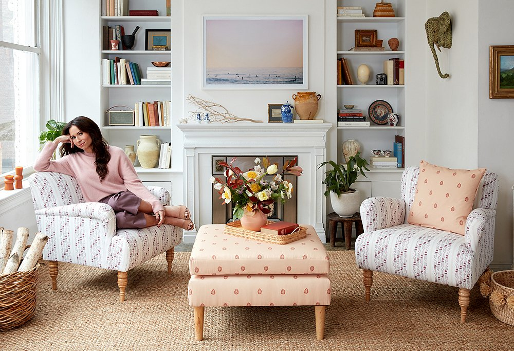 Minnie Driver for One Kings Lane - Patterned Furniture and Accessories.jpg
