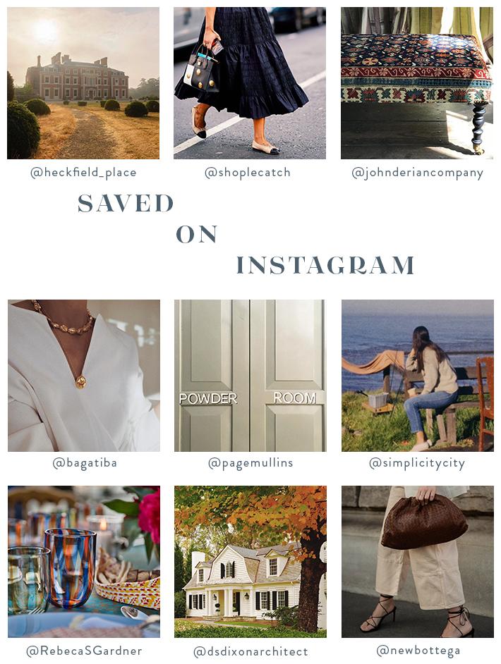 September Mood Board - Favorite Instagram Accounts