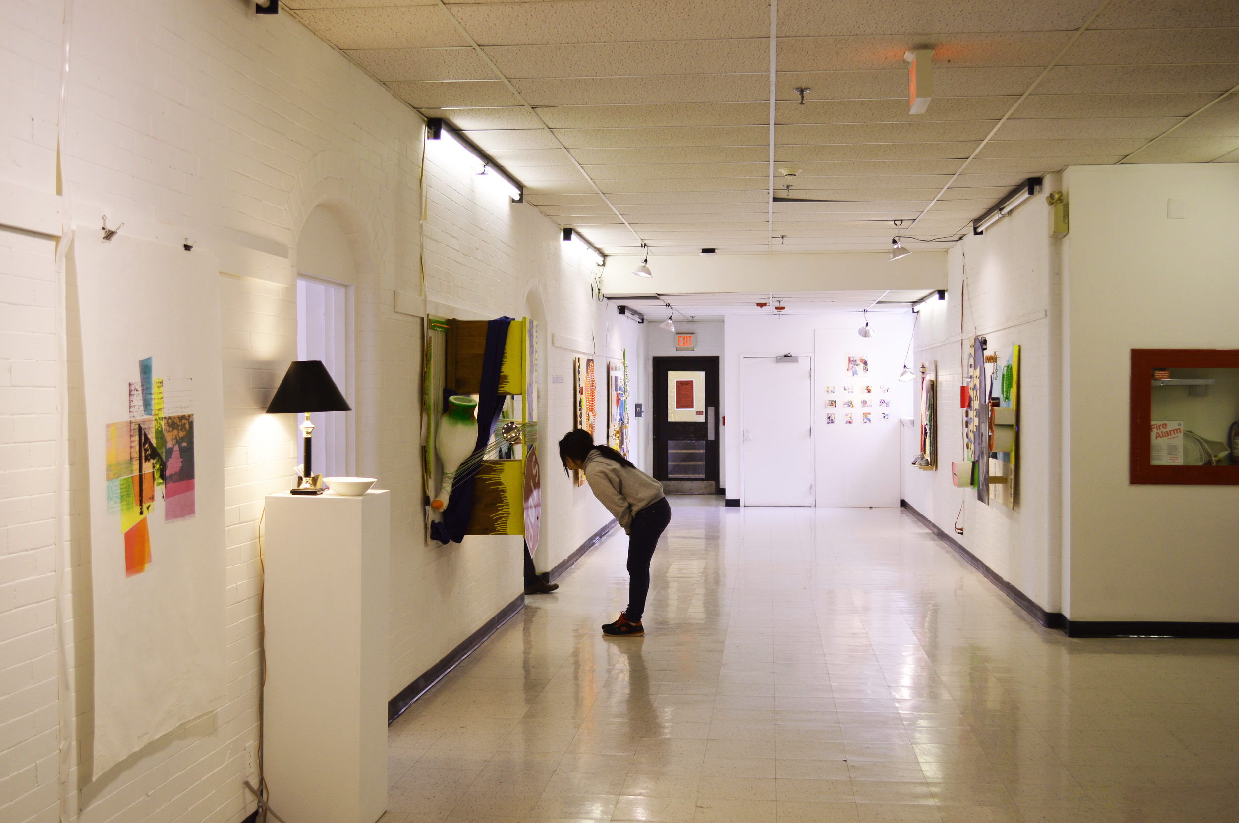 installation view of  Begin Anywhere