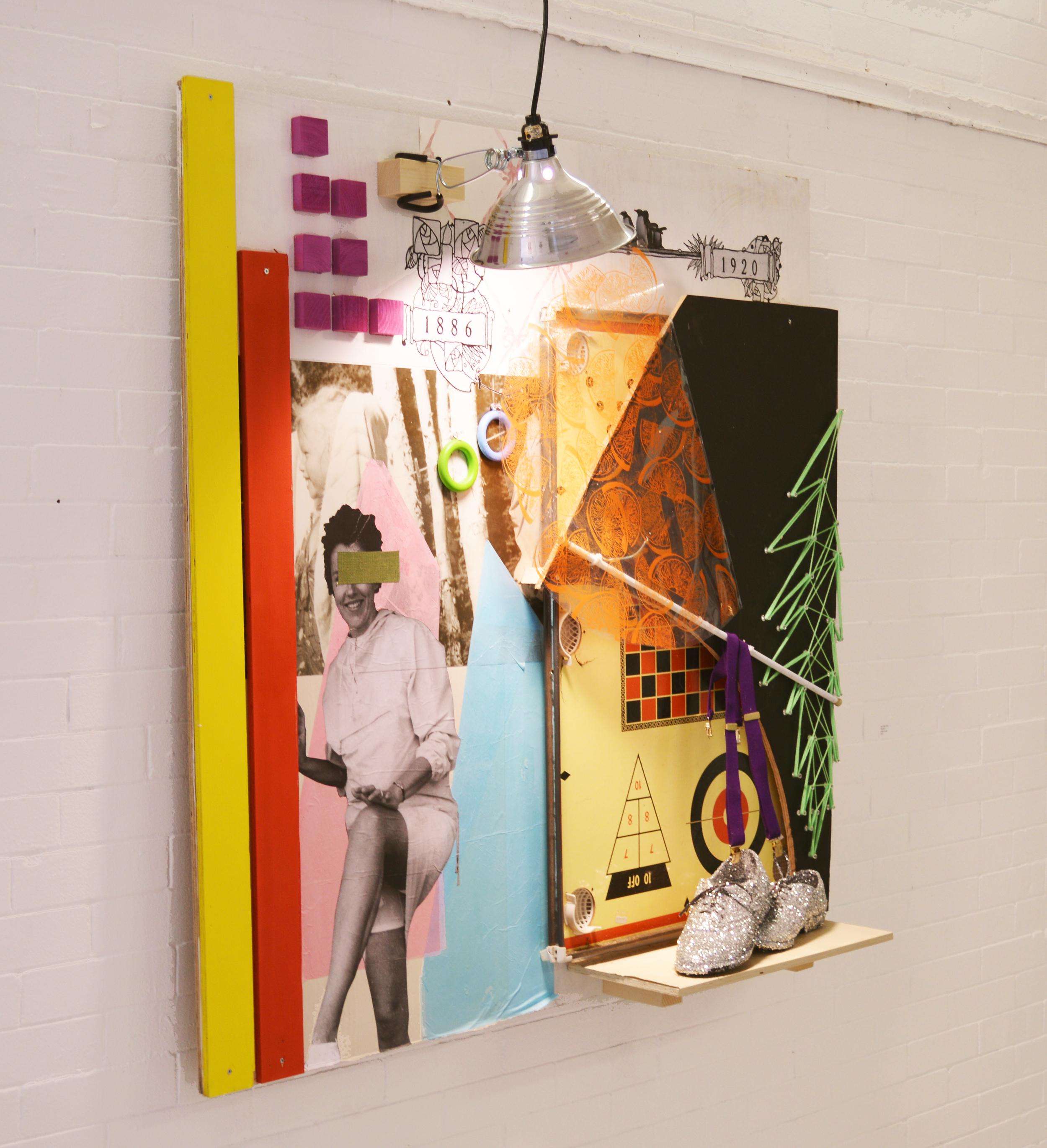 Marianne   installation view - left side