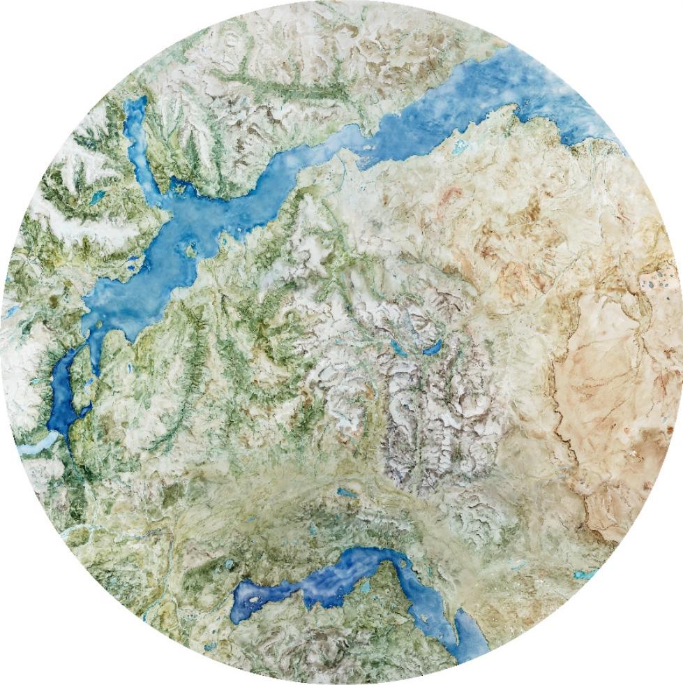 Map of Patagonia National Park and Environs