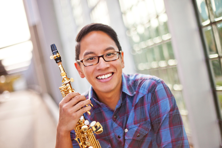Joseph Abad   ,  soprano saxophone